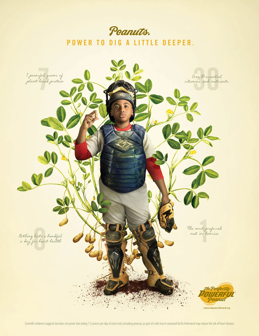 Catcher: The Perfectly Powerful Peanut Campaign