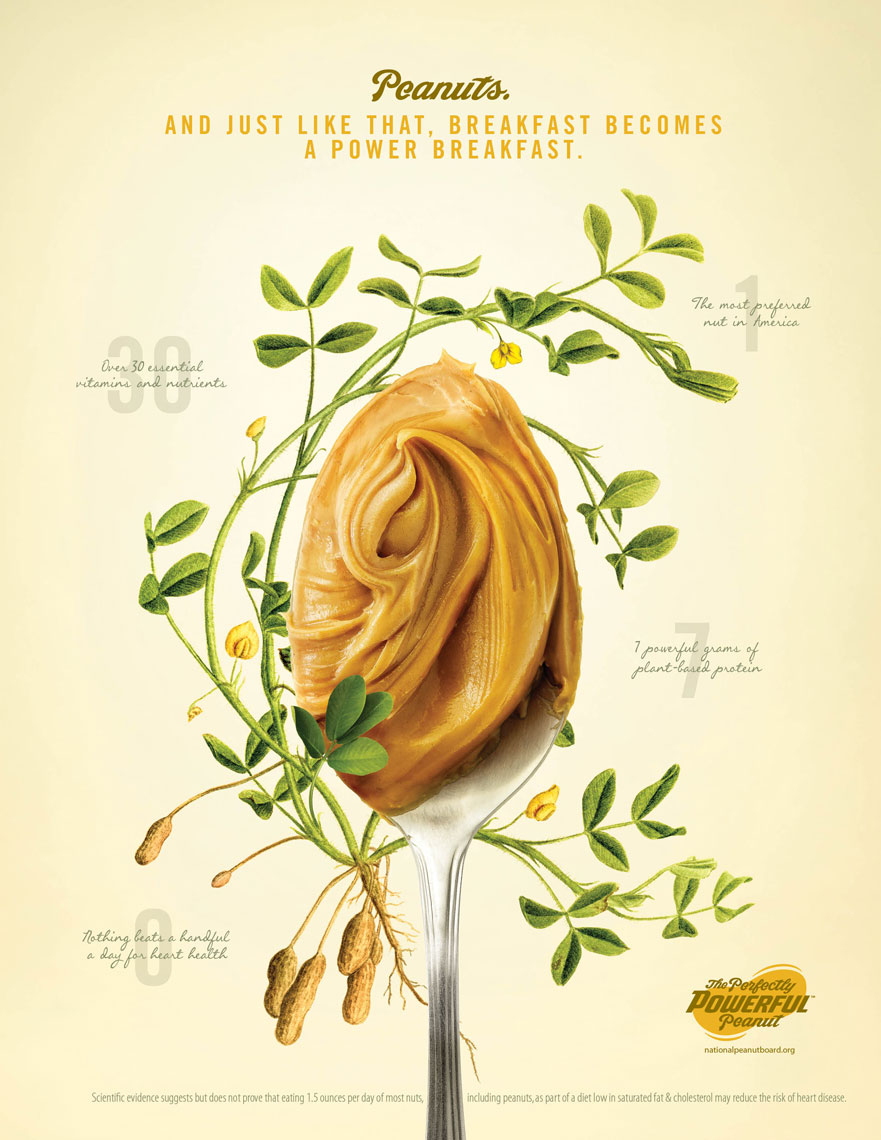 Peanutbutter Spoon: The Perfectly Powerful Peanut Campaign