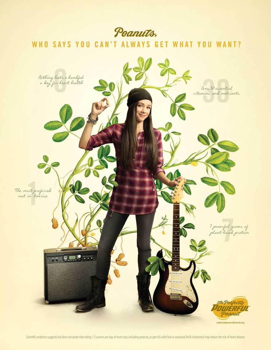 Guitar Girl: The Perfectly Powerful Peanut Campaign