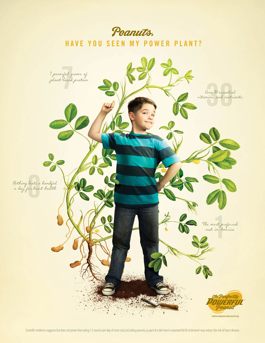 Power Boy: The Perfectly Powerful Peanut Campaign - photographer Chris Crisman