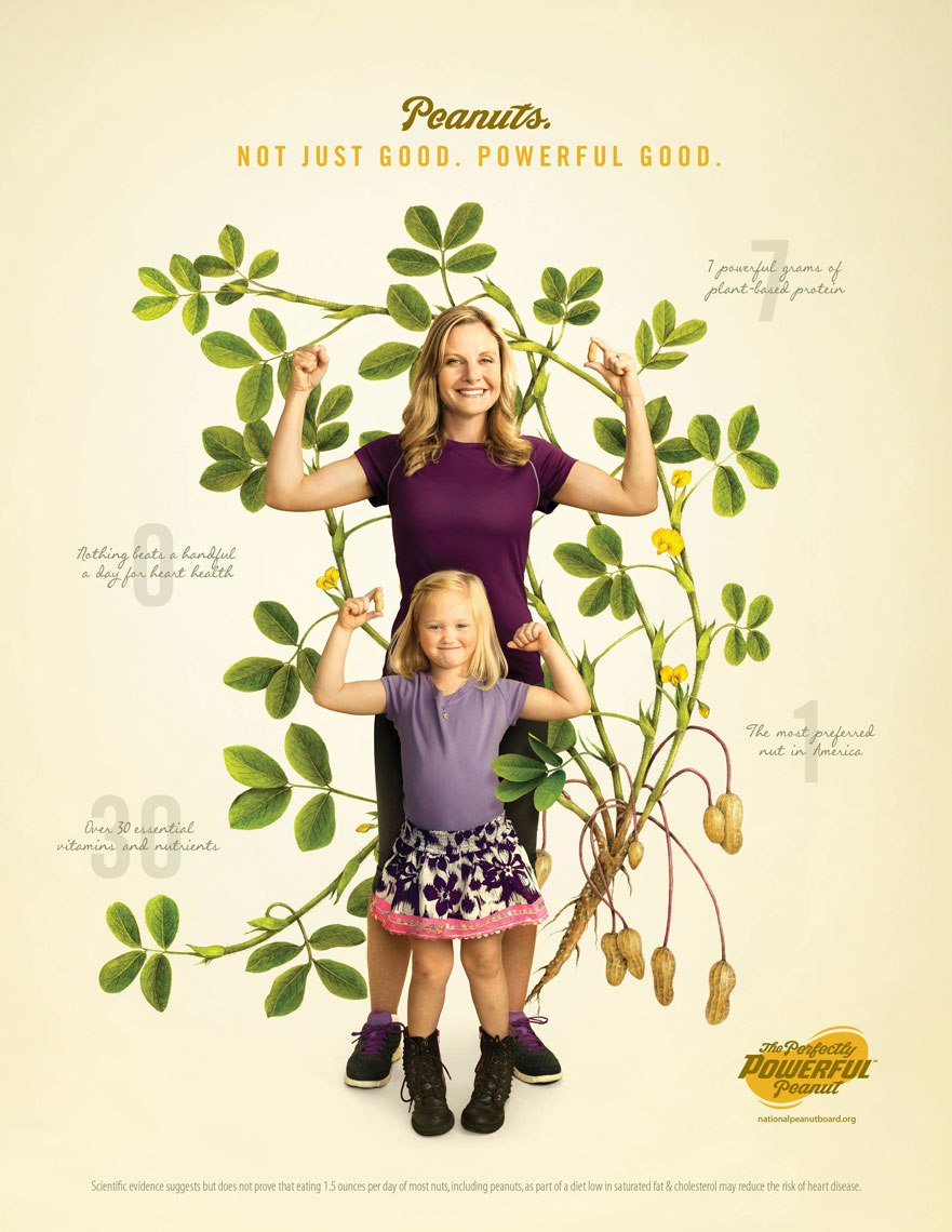 Mom and Daughter: The Perfectly Powerful Peanut Campaign