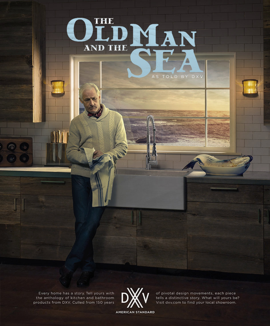 American Standard DXV: The Old Man and The Sea