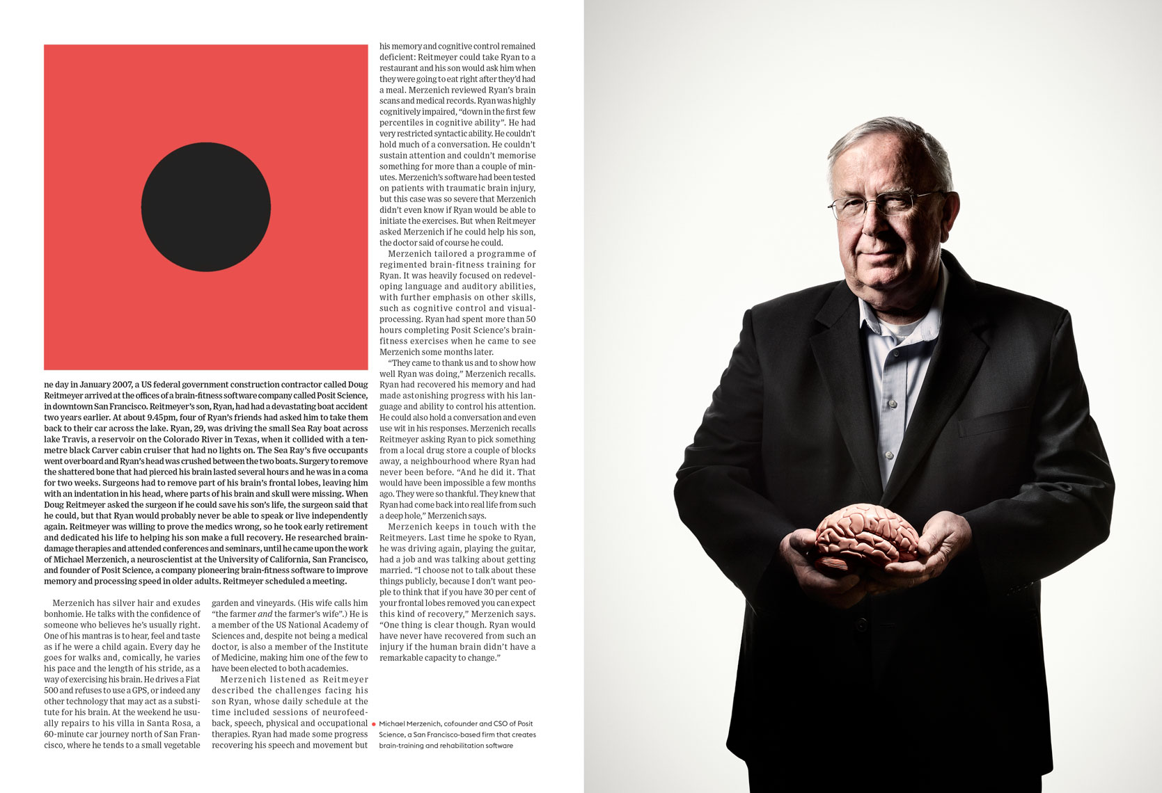 Michael Merzenich for Wired UK May 2014 issue