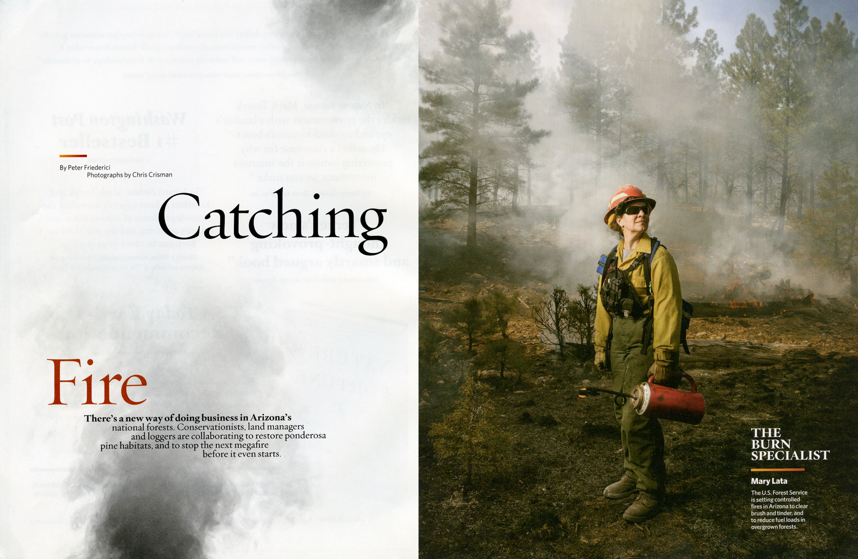 Nature Conservancy: Catching Fire. Opener: MARY LATA