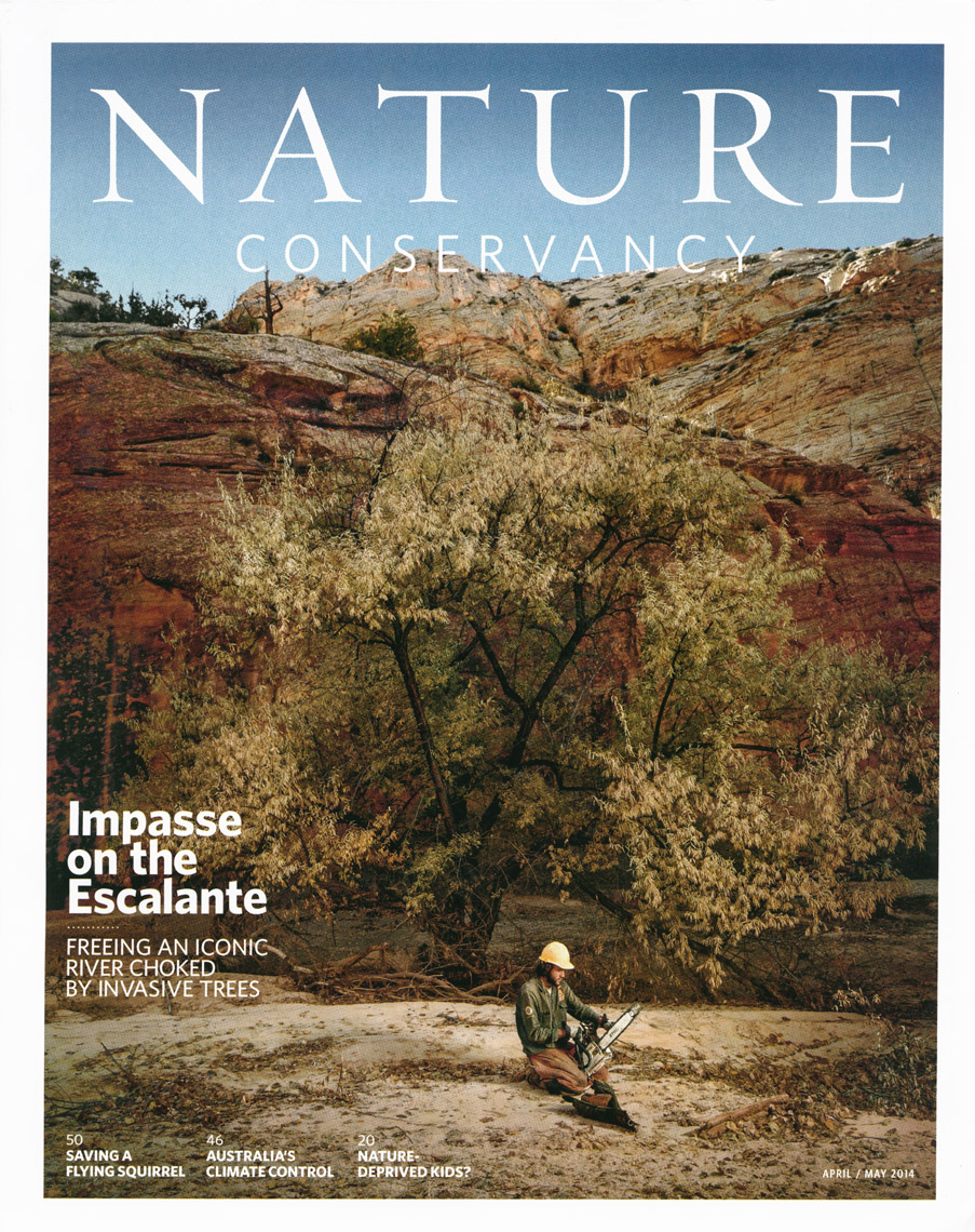 Nature Conservancy Magazine - April - May 2014 - Cover - photographer Chris Crisman