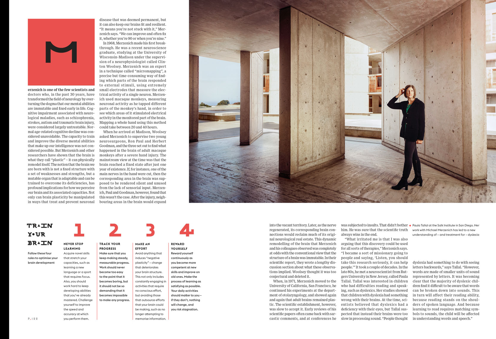 Paula Tallal at the Salk Institute for Wired UK Spread May 2014 ...