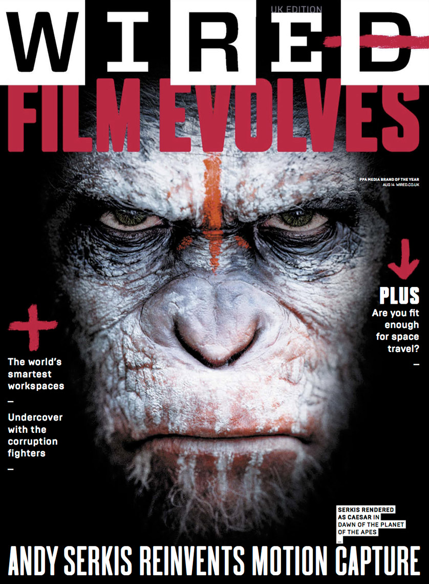 WIRED UK: Film Evolves - August 2014 - Cover
