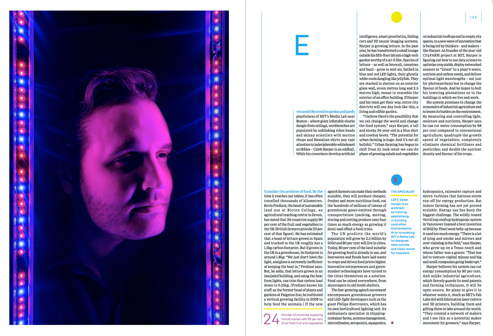 WIRED UK - OCTOBER 2014 - CITY FARM Feature - Spread 4 ...