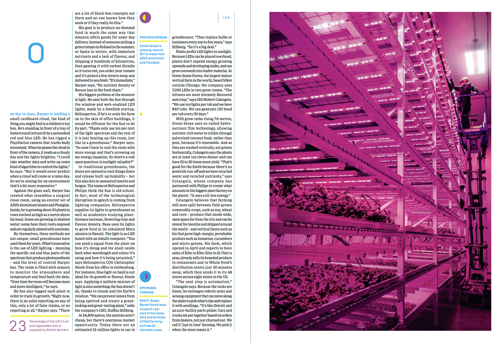 WIRED UK - OCTOBER 2014 - CITY FARM Feature - Spread 4 - photographer Chris Crisman