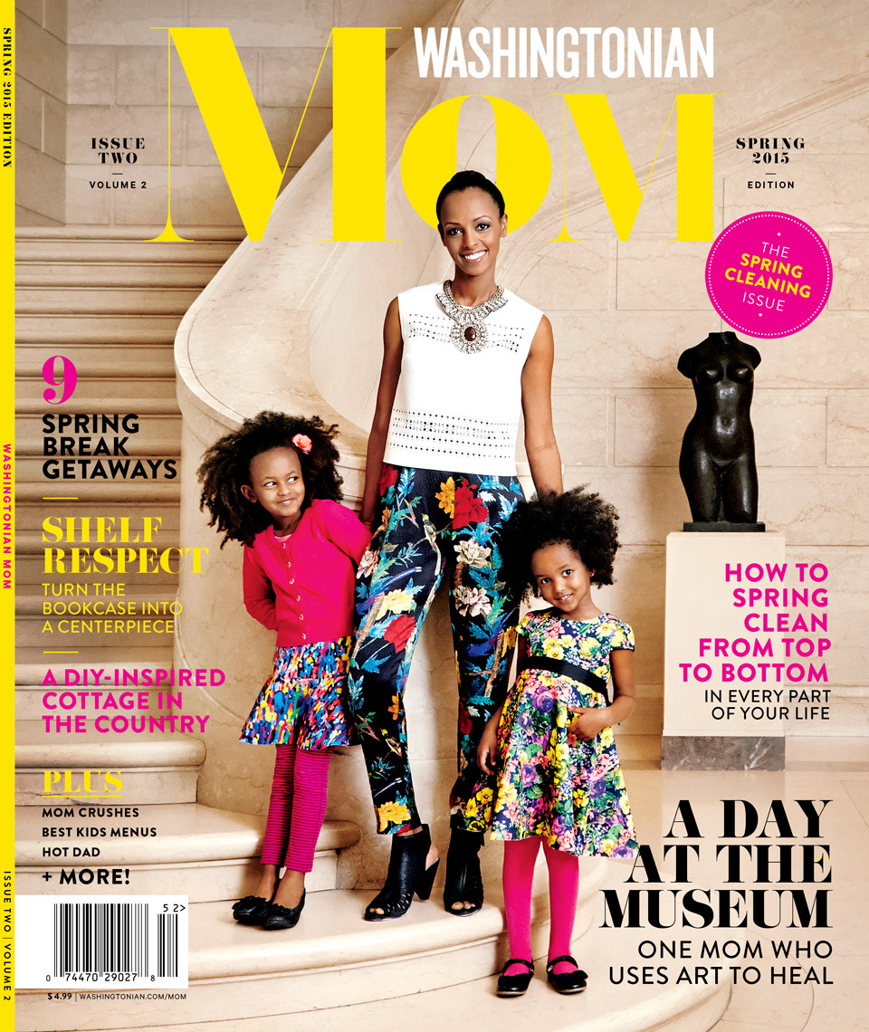 Washingtonian MOM Magazine - Spring 2015 - Cover