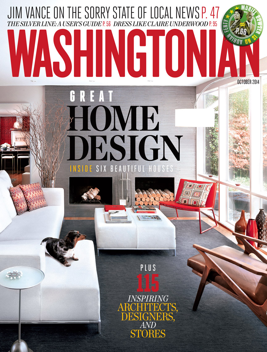 Washingtonian Magazine - October 2014 - Cover