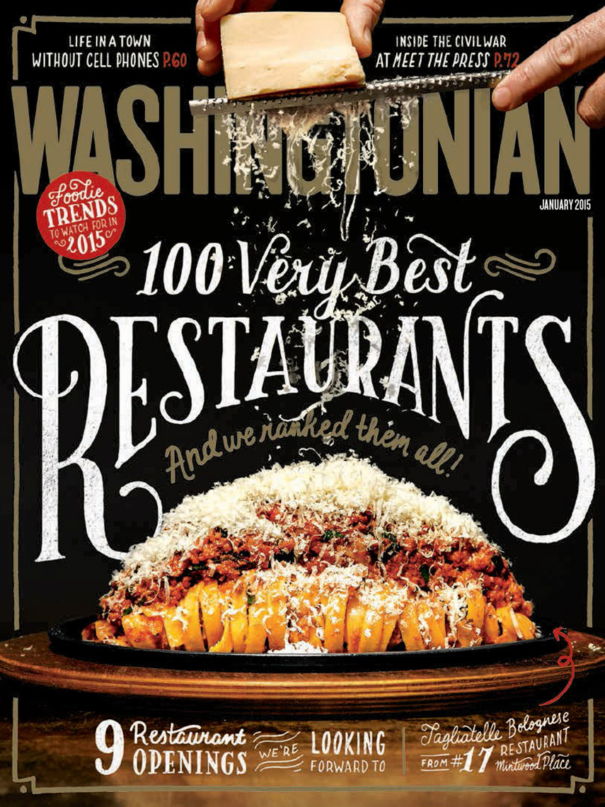 Washingtonian Magazine - January 2015 - Cover