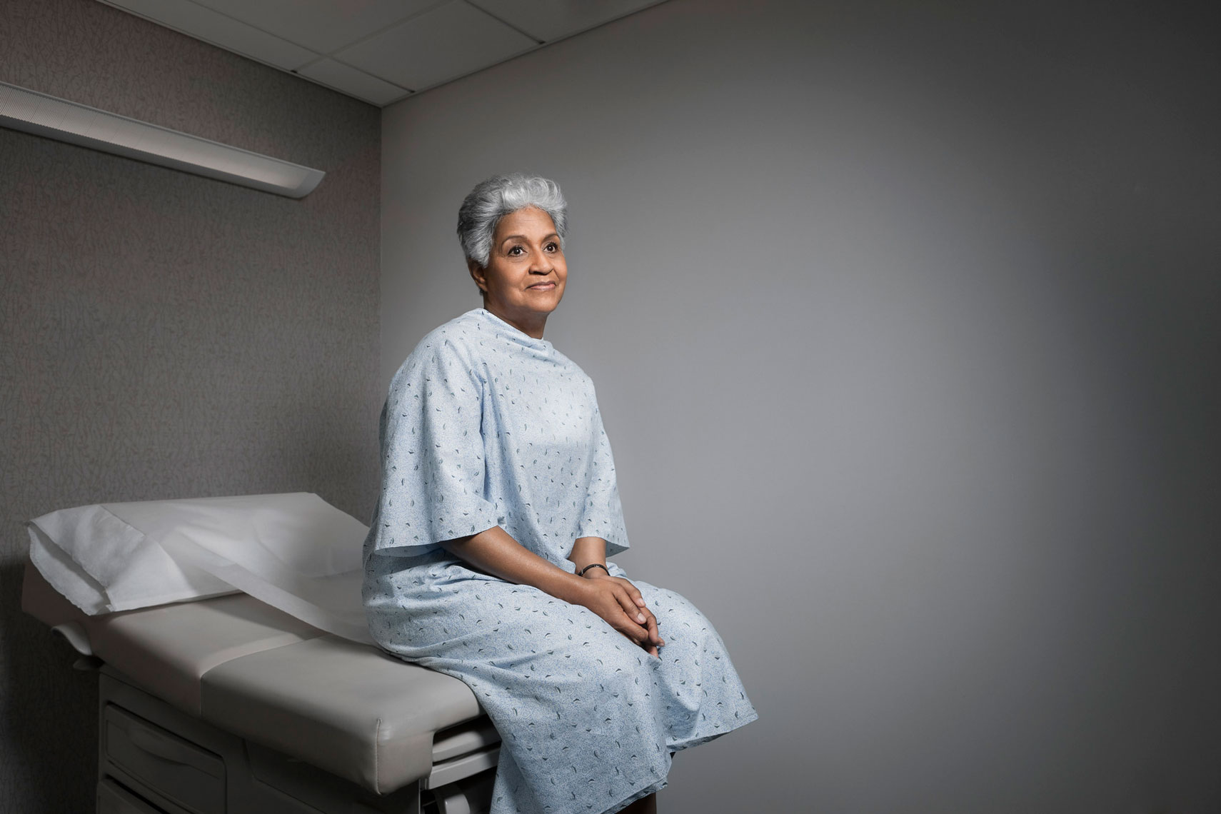 HOSPITAL: Patient Portrait: CORBIS