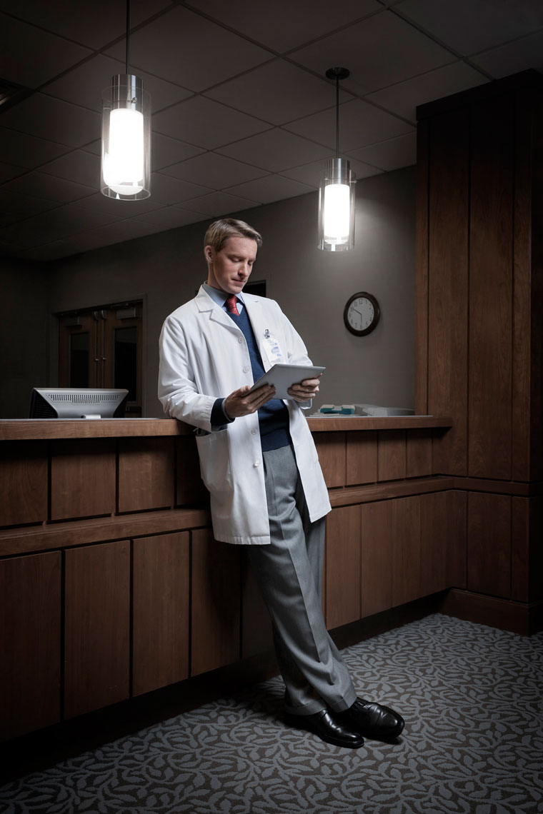 HOSPITAL: Doctor Portrait: CORBIS