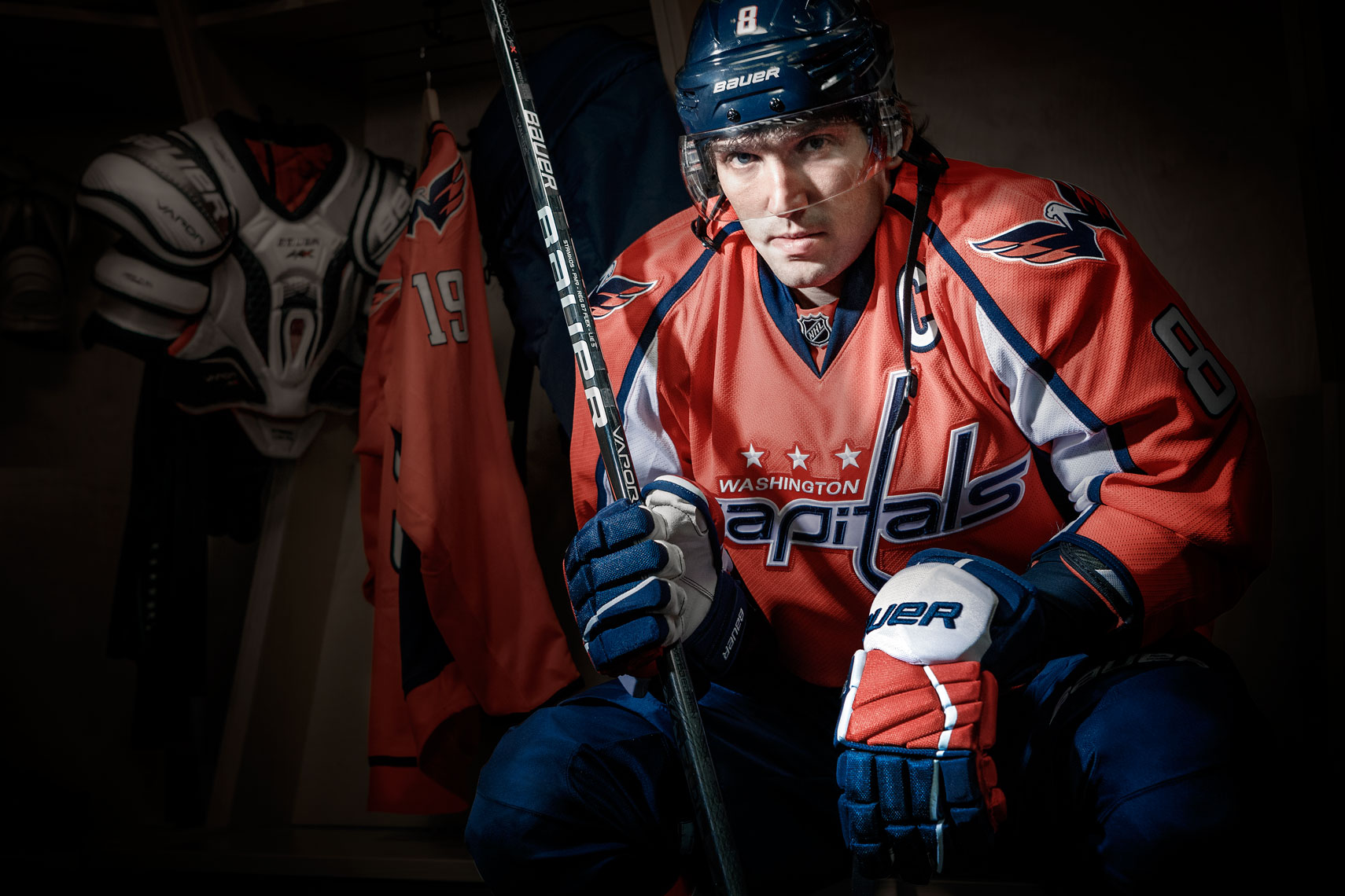 National Hockey League: Washington Capitals winger Alexander Ovechkin