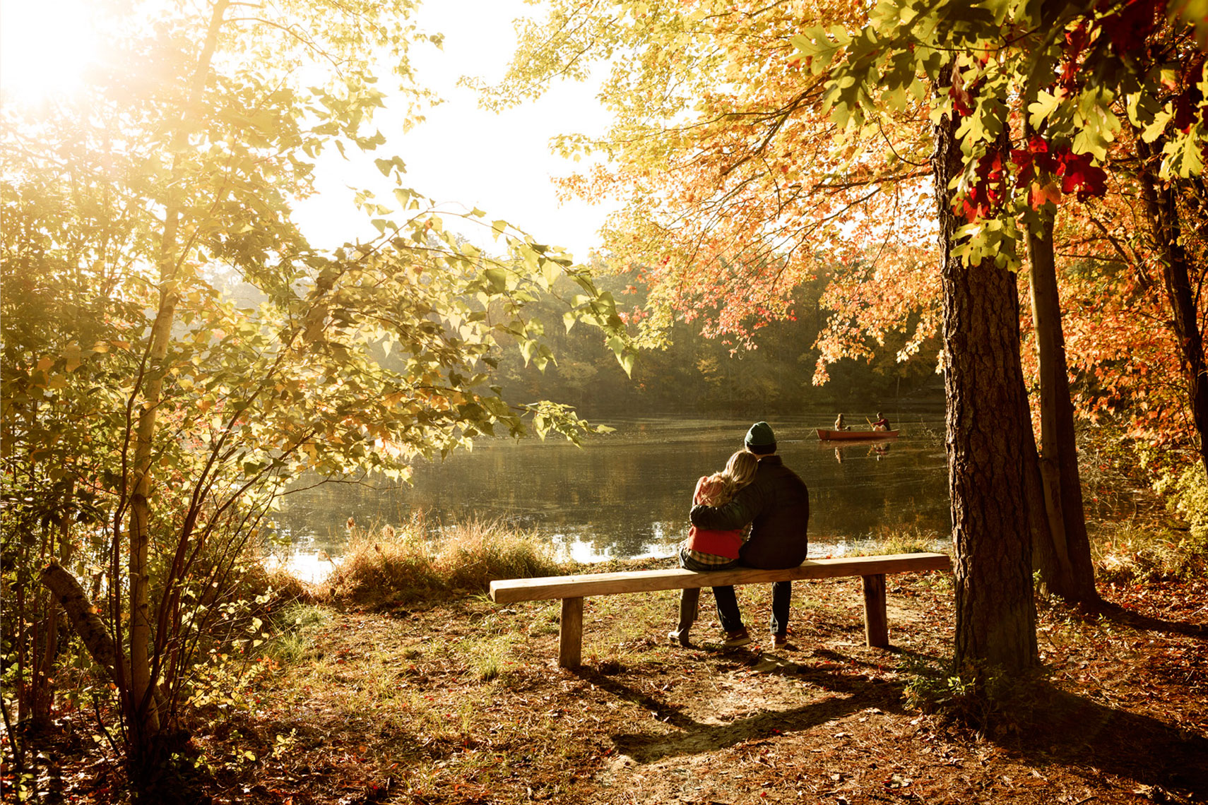Fall Lifestyle: Couple Portrait: CORBIS
