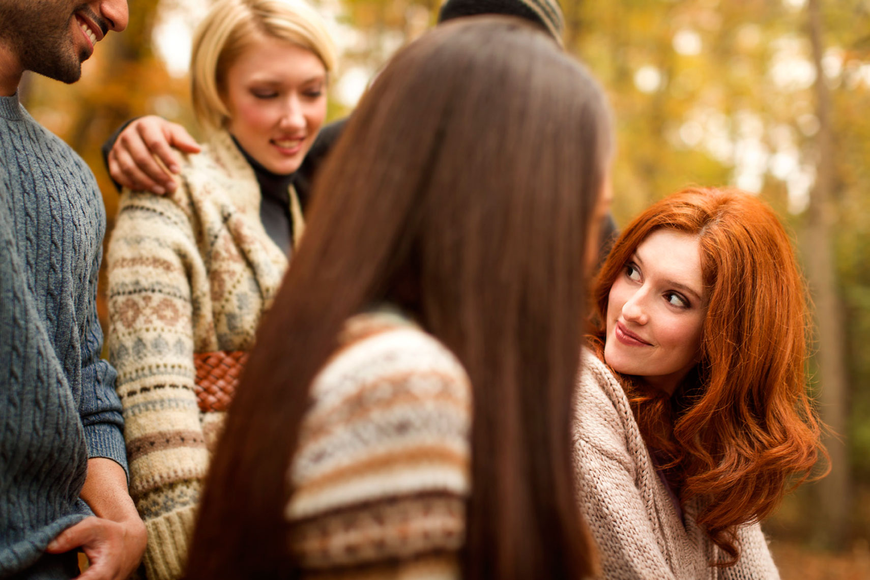 Fall Lifestyle: Young Women Portrait: CORBIS