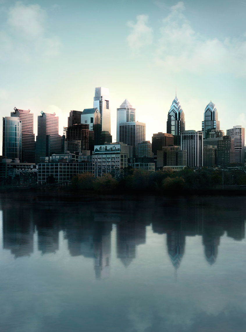 Philadelphia Skyline Composite