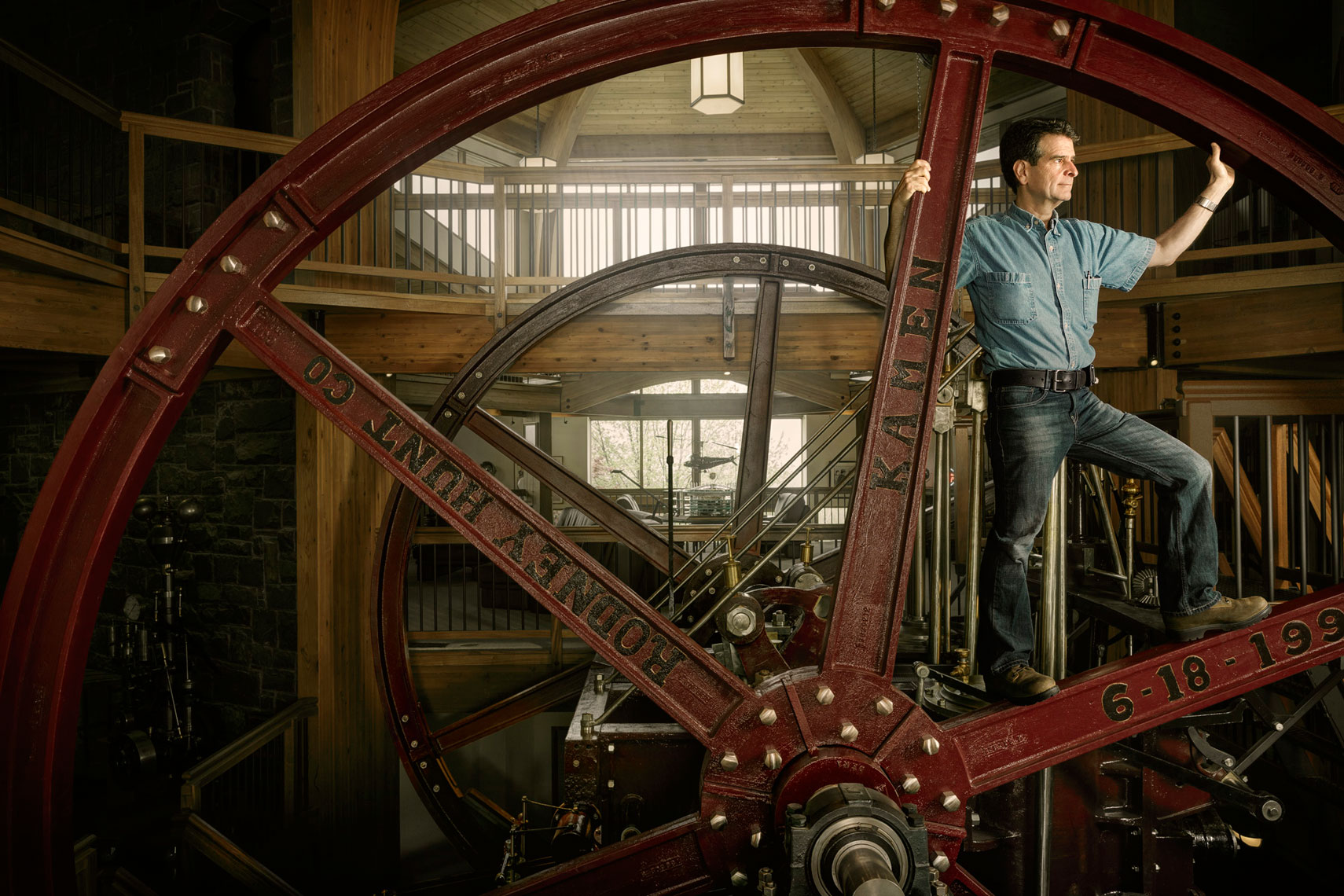 Dean Kamen in Engine of Progress: WIRED UK