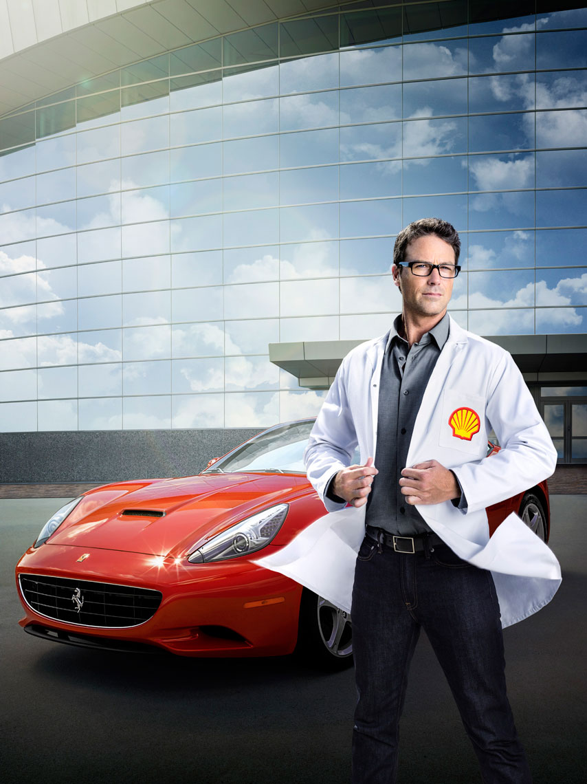 Shell V-Power Fuels and Ferrari co-branded Project