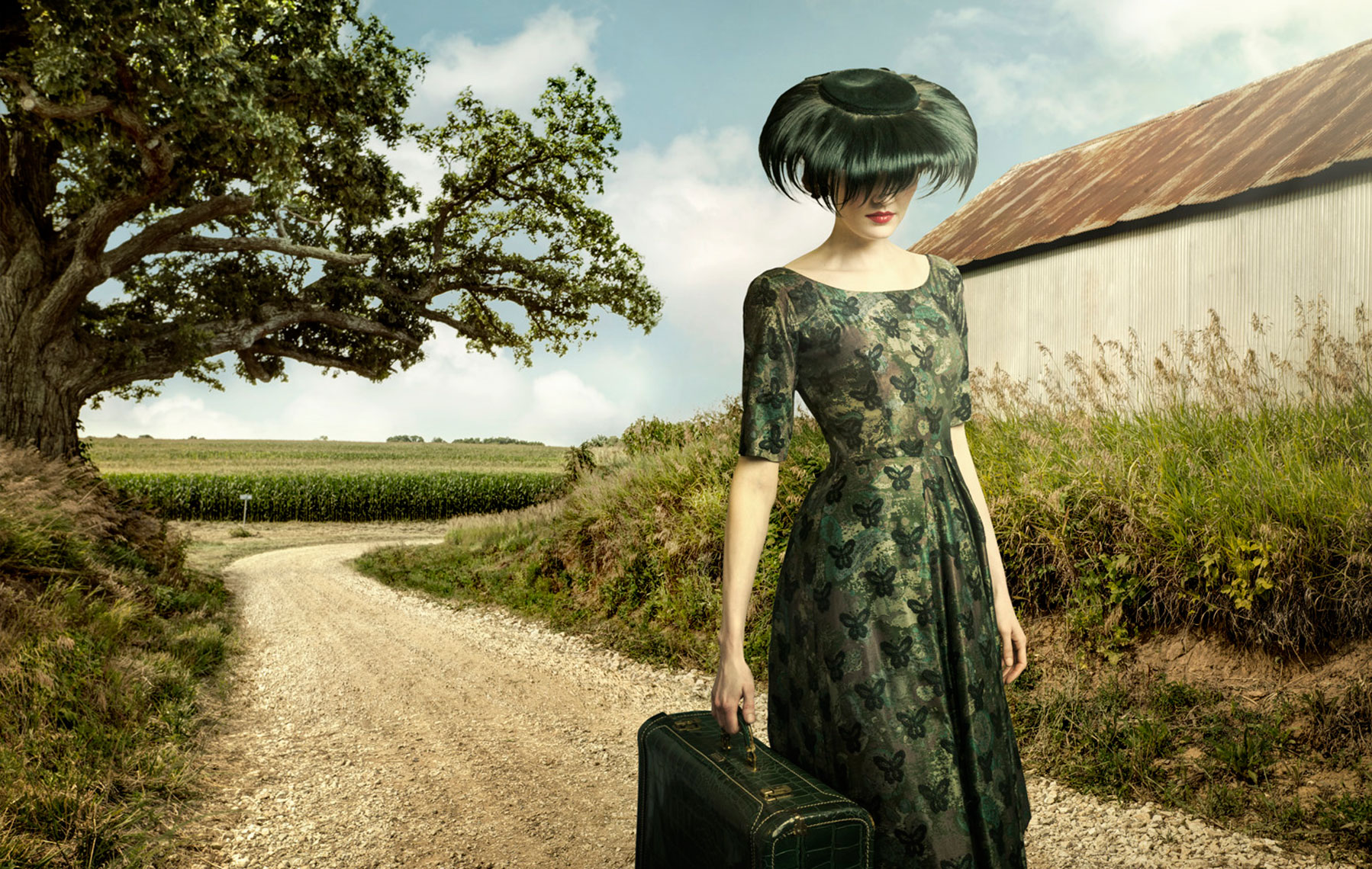 The Suitcase Girl Composite
