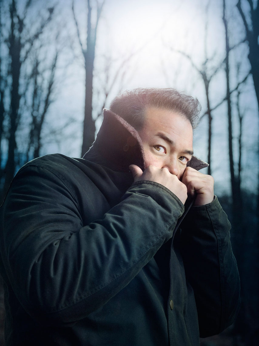 Philadelphia Magazine Feature: JON GOSSELIN in the WILDERNESS. January 2014 issue