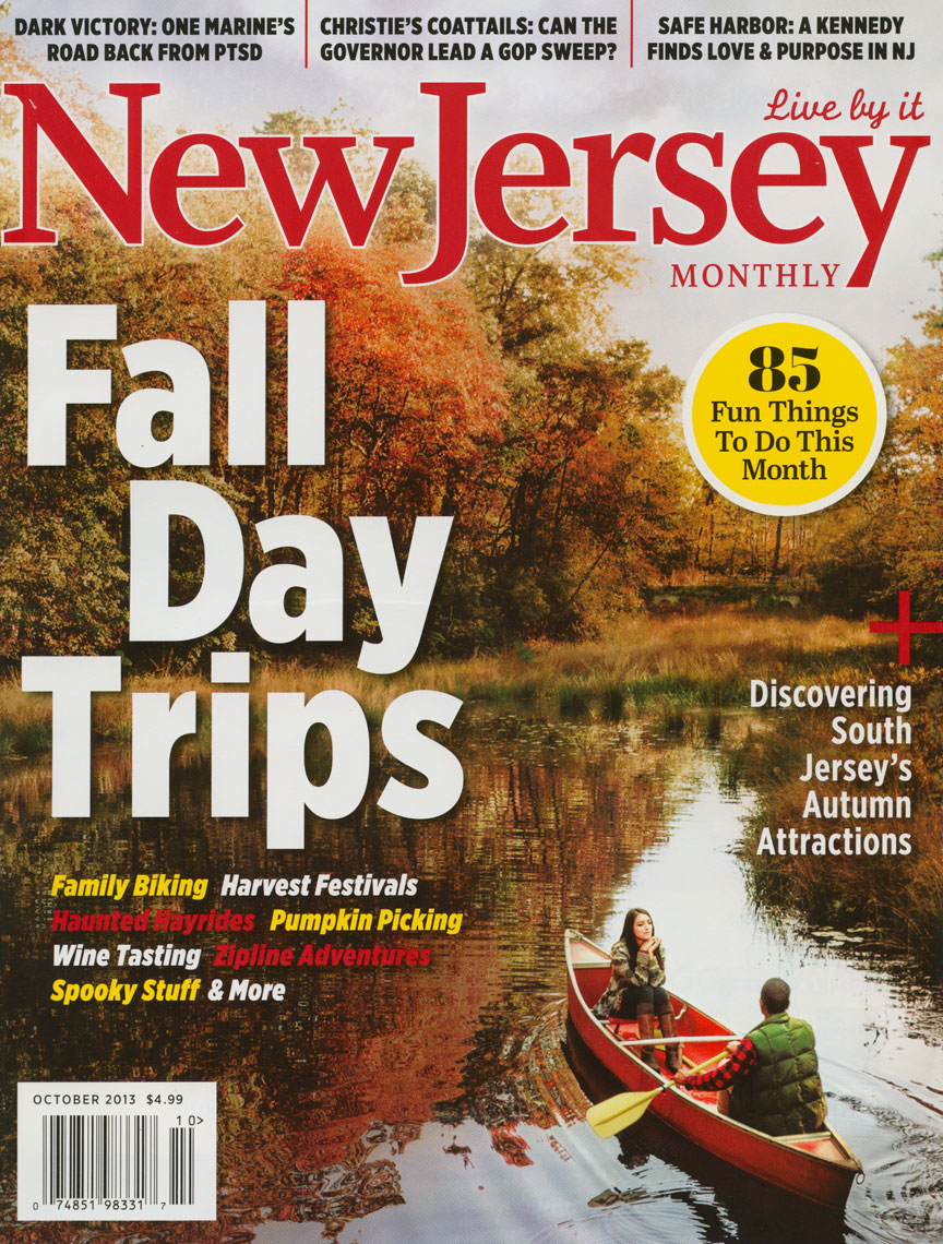 New Jersey Monthly: Fall Day Trips. October 2013